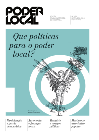 Último número da Poder Local